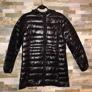 Long black coat size extra large
